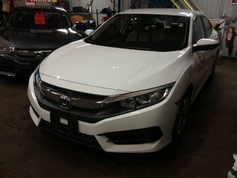 2018 Honda Civic for sale at Drive Deleon in Yonkers NY
