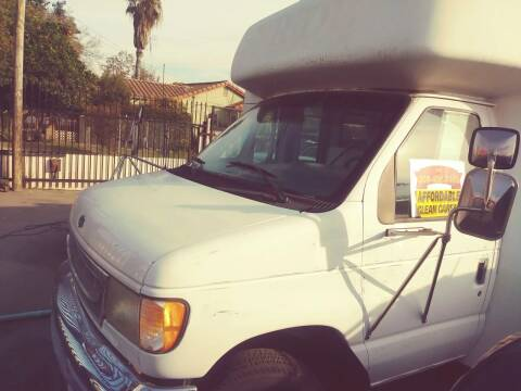 1997 Ford E450 Passenger Van for sale at Affordable Auto Finance in Modesto CA