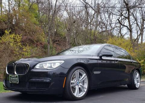 2015 BMW 7 Series for sale at The Motor Collection in Columbus OH