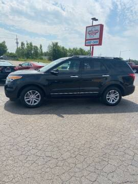 2015 Ford Explorer for sale at DAVE KNAPP USED CARS in Lapeer MI
