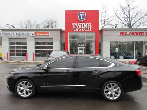 2016 Chevrolet Impala for sale at Twins Auto Sales Inc in Detroit MI