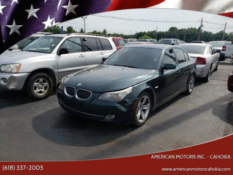 2008 BMW 5 Series for sale at American Motors Inc. - Cahokia in Cahokia IL