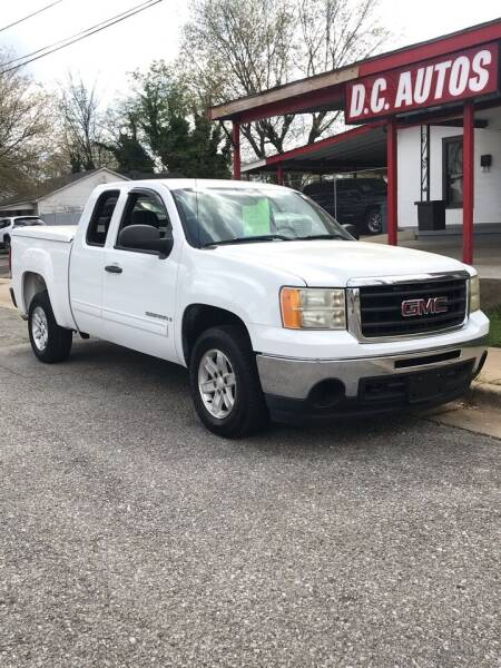 2009 GMC Sierra 1500 for sale at D. C.  Autos in Huntsville AL