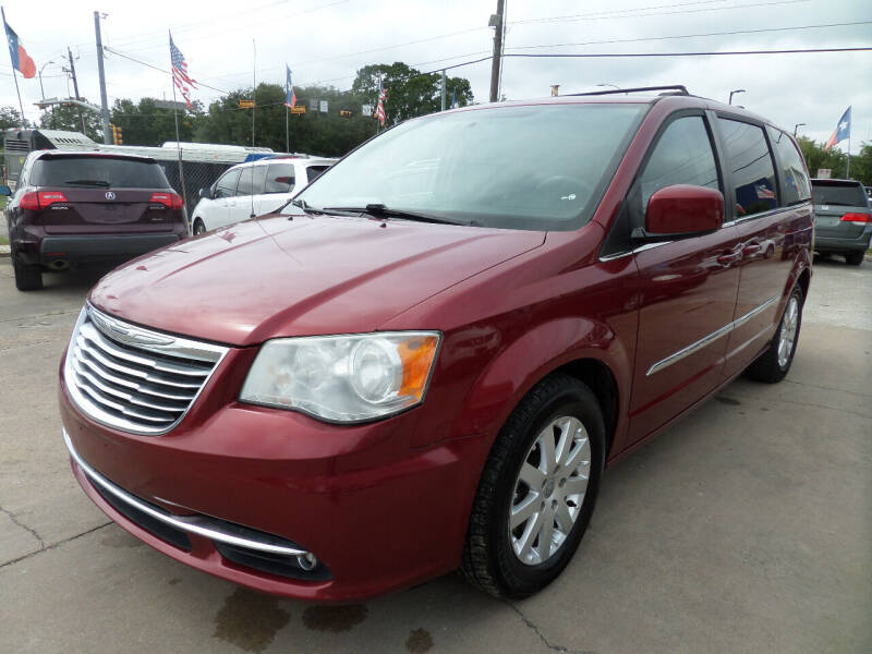 2013 Chrysler Town and Country for sale at West End Motors Inc in Houston TX