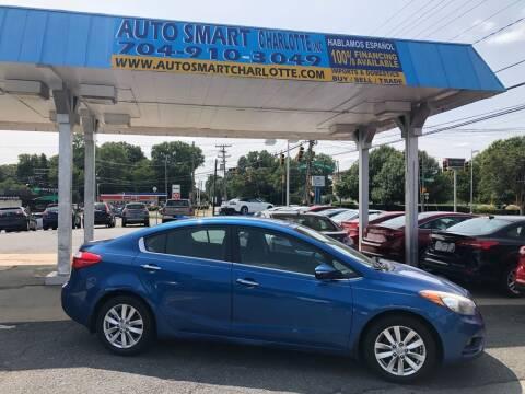 2014 Kia Forte for sale at Auto Smart Charlotte in Charlotte NC