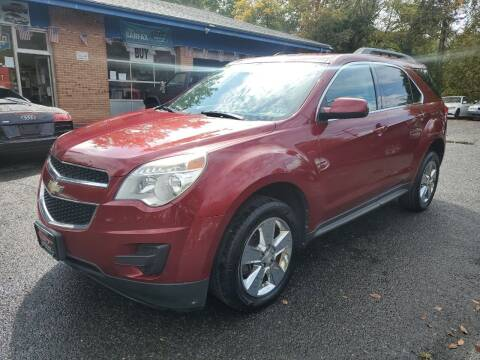 2012 Chevrolet Equinox for sale at CENTRAL GROUP in Raritan NJ
