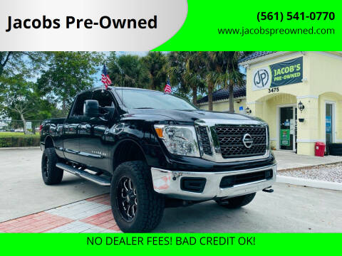 2018 Nissan Titan XD for sale at Jacobs Pre-Owned in Lake Worth FL