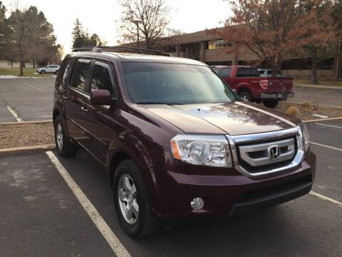 2011 Honda Pilot for sale at QUEST MOTORS in Englewood CO