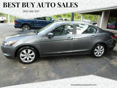 2008 Honda Accord for sale at Best Buy Auto Sales in South Beloit IL