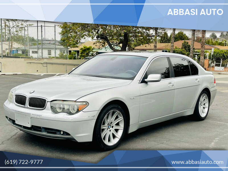 2004 BMW 7 Series for sale in San Diego, CA