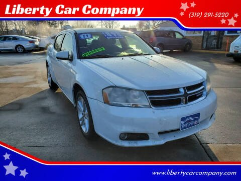 2011 Dodge Avenger for sale at Liberty Car Company in Waterloo IA