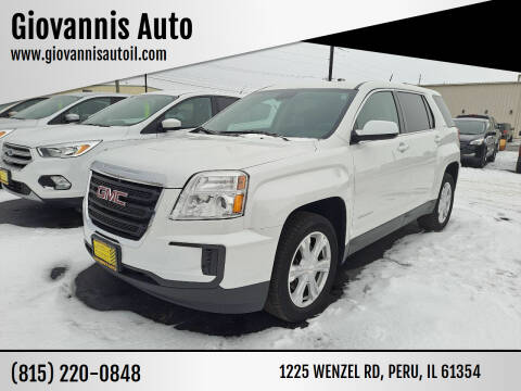 2017 GMC Terrain for sale at Giovannis Auto in Peru IL