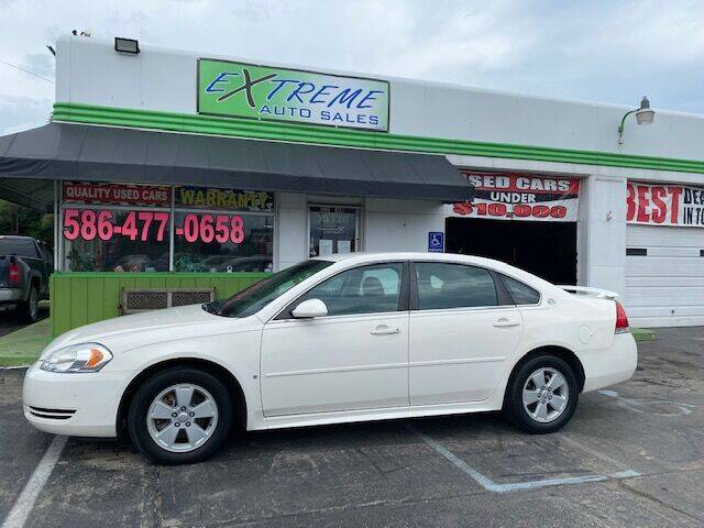 2009 Chevrolet Impala for sale at Extreme Auto Sales in Clinton Township MI