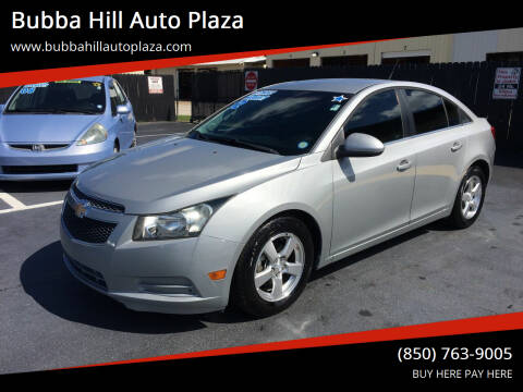 2012 Chevrolet Cruze for sale at Bubba Hill Auto Plaza in Panama City FL