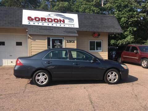 2007 Honda Accord for sale at Gordon Auto Sales LLC in Sioux City IA