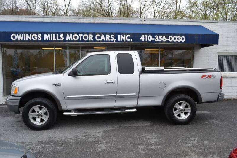 2003 Ford F-150 for sale at Owings Mills Motor Cars in Owings Mills MD