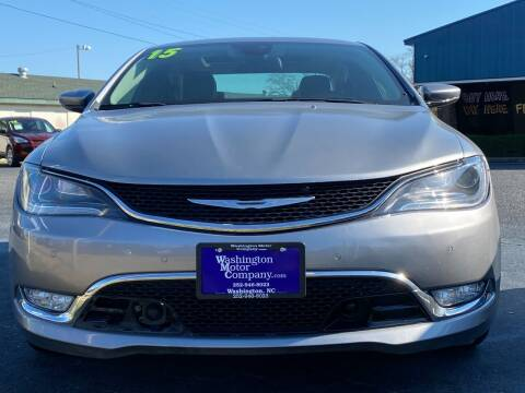2015 Chrysler 200 for sale at East Carolina Auto Exchange in Greenville NC