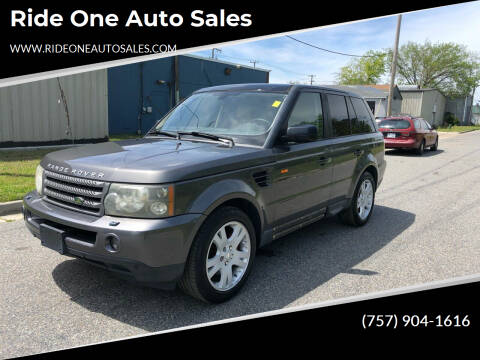 2006 Land Rover Range Rover Sport for sale at Ride One Auto Sales in Norfolk VA