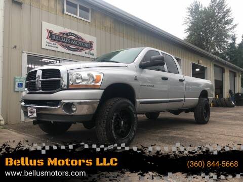 2006 Dodge Ram Pickup 2500 for sale at Bellus Motors LLC in Camas WA