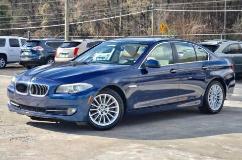 2013 BMW 5 Series for sale at Marietta Auto Mall Center in Marietta GA