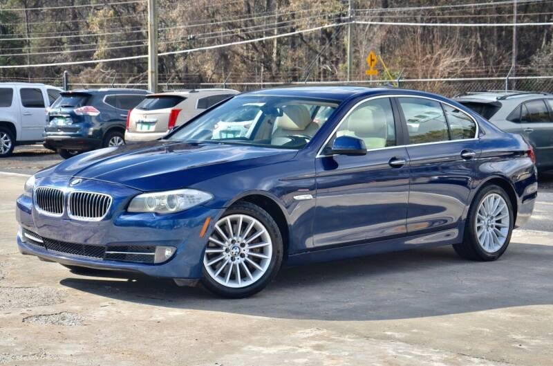 2013 BMW 5 Series for sale at Marietta Auto Mall Center in Marietta GA