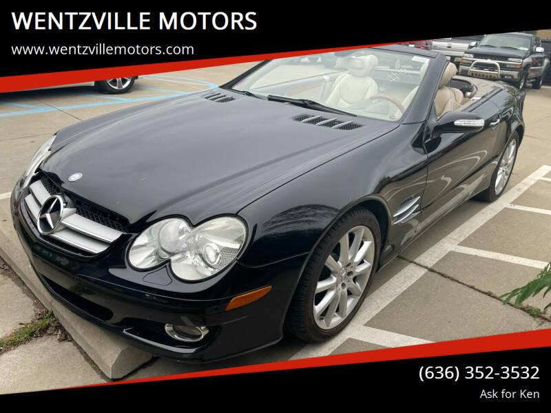 2007 Mercedes-Benz SL-Class for sale at WENTZVILLE MOTORS in Wentzville MO