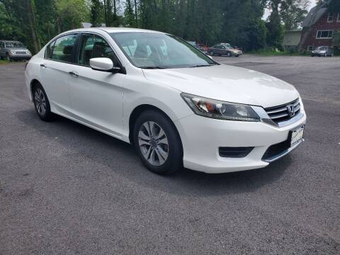 2014 Honda Accord for sale at AFFORDABLE IMPORTS in New Hampton NY