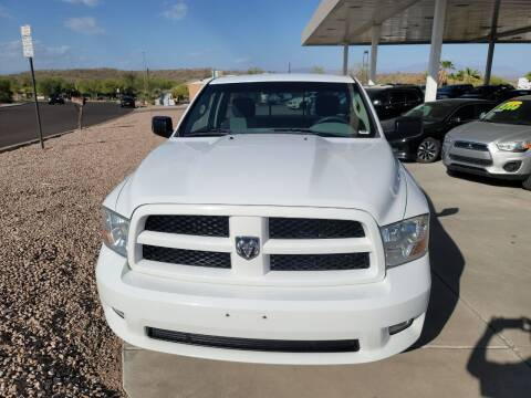 2012 RAM Ram Pickup 1500 for sale at Carzz Motor Sports in Fountain Hills AZ