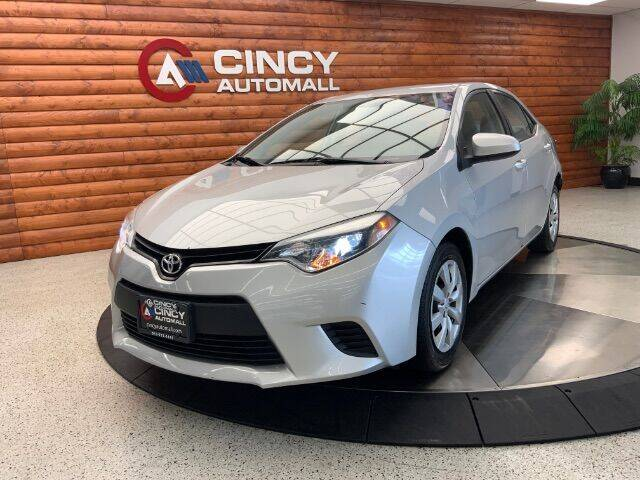 2014 Toyota Corolla for sale at Dixie Motors in Fairfield OH