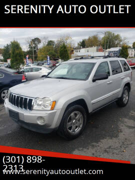 2006 Jeep Grand Cherokee for sale at SERENITY AUTO OUTLET in Frederick MD