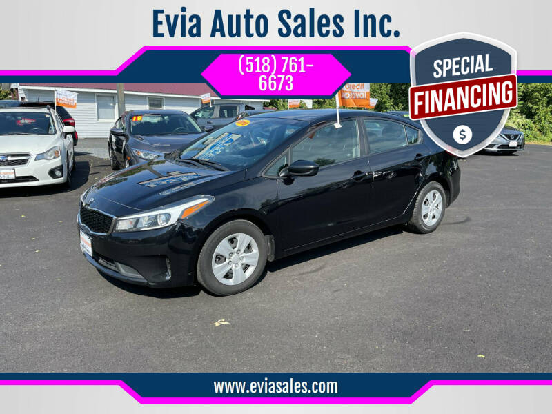 2018 Kia Forte for sale at Evia Auto Sales Inc. in Glens Falls NY