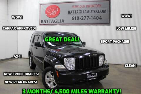 2011 Jeep Liberty for sale at Battaglia Auto Sales in Plymouth Meeting PA