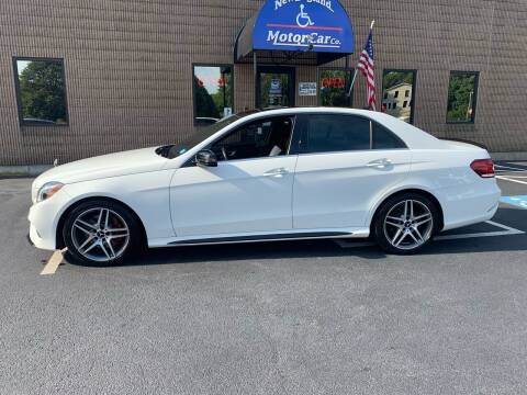 2014 Mercedes-Benz E-Class for sale at CJ Clark's New England Motor Car Company in Hudson NH