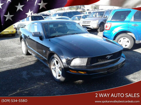 2009 Ford Mustang for sale at 2 Way Auto Sales in Spokane Valley WA