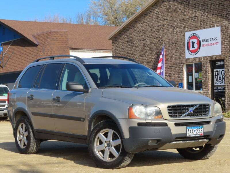 2004 Volvo XC90 for sale at Big Man Motors in Farmington MN