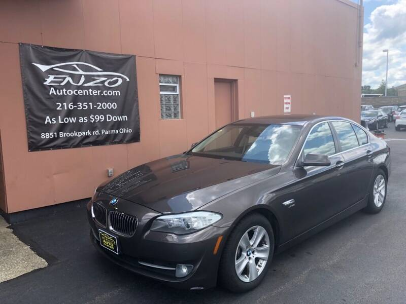 2012 BMW 5 Series for sale at ENZO AUTO in Parma OH