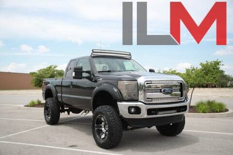 2013 Ford F-250 Super Duty for sale at INDY LUXURY MOTORSPORTS in Fishers IN