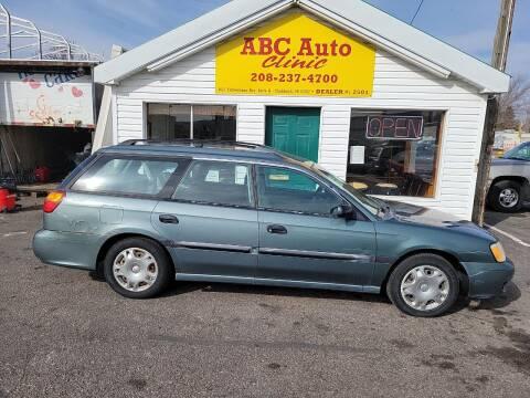 2001 Subaru Legacy for sale at ABC AUTO CLINIC - Chubbuck in Chubbuck ID
