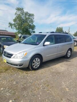 2008 Hyundai Entourage for sale at Jeff's Sales & Service in Presque Isle ME