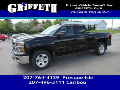 2015 Chevrolet Silverado 1500 for sale at Griffeth Mitsubishi - Pre-owned in Caribou ME