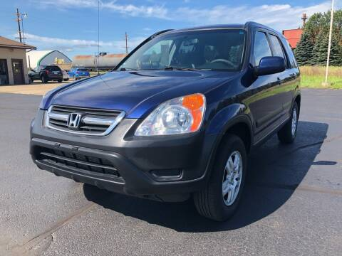2004 Honda CR-V for sale at Mike's Budget Auto Sales in Cadillac MI