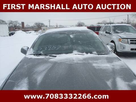 2007 Pontiac Grand Prix for sale at First Marshall Auto Auction in Harvey IL