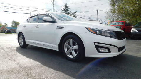 2015 Kia Optima for sale at Action Automotive Service LLC in Hudson NY