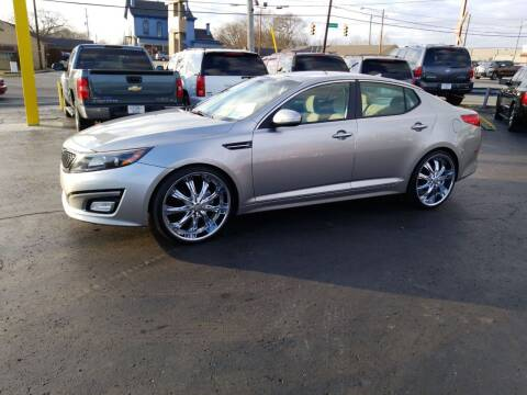 2014 Kia Optima for sale at Rucker's Auto Sales Inc. in Nashville TN