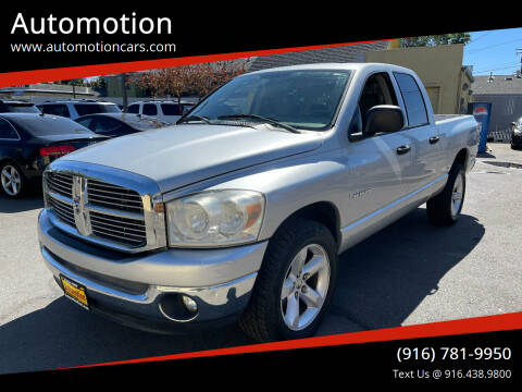 2008 Dodge Ram Pickup 1500 for sale at Automotion in Roseville CA