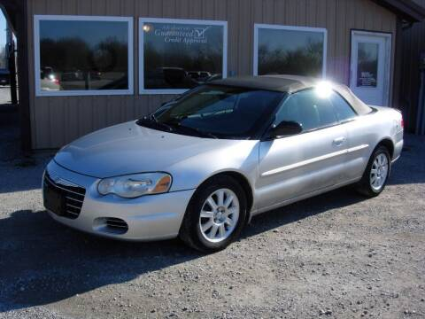 2004 Chrysler Sebring for sale at Greg Vallett Auto Sales in Steeleville IL