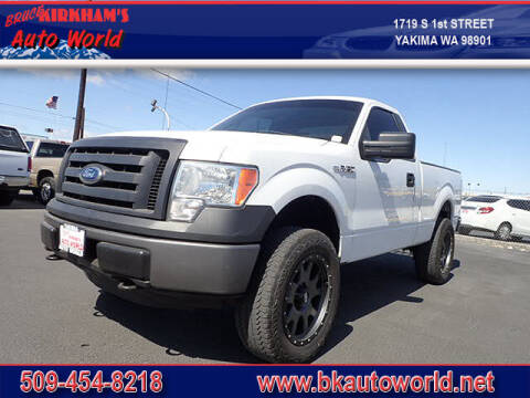 2012 Ford F-150 for sale at Bruce Kirkham Auto World in Yakima WA