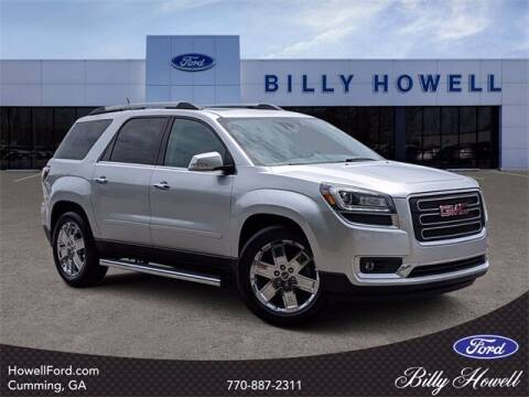 2017 GMC Acadia Limited for sale at BILLY HOWELL FORD LINCOLN in Cumming GA