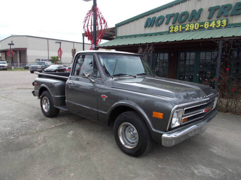 1968 Chevrolet C/K 10 Series for sale at MOTION TREND AUTO SALES in Tomball TX