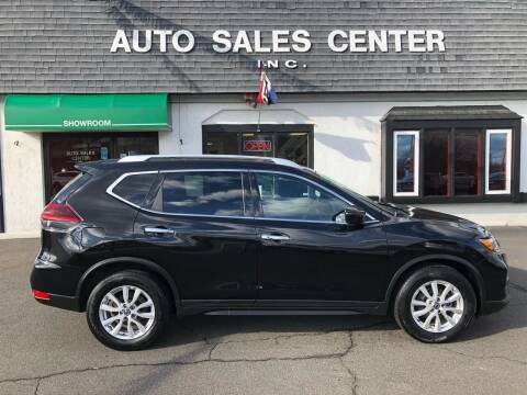 2019 Nissan Rogue for sale at Auto Sales Center Inc in Holyoke MA